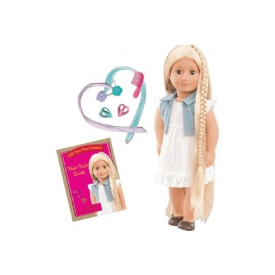 Our Generation Hairplay Doll Phoebe 18Inch Blonde