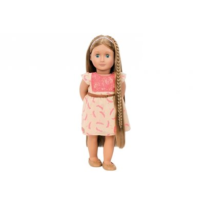 Our Generation Hairplay Doll Portia 18Inch Chestnut