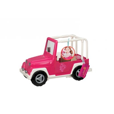 Our Generation Vehicles My Way And Highways 4 X 4 - Pink