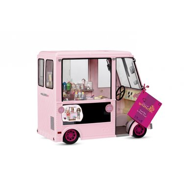 Our Generation Vehicles Sweet Stop Ice Cream Truck - Pink