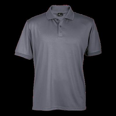 165g Basic Promo Golfer Grey Size Small