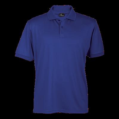 165g Basic Promo Golfer Royal Blue Size XL