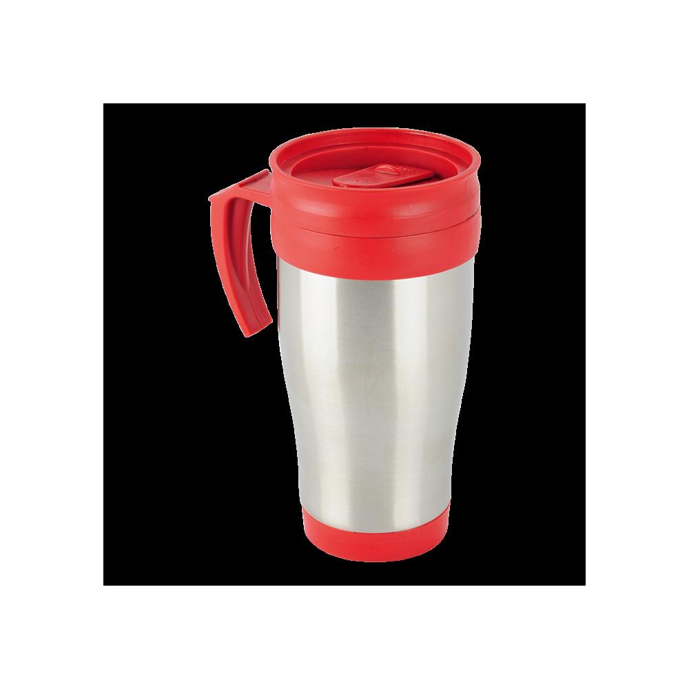 450ml Travel Mug Red