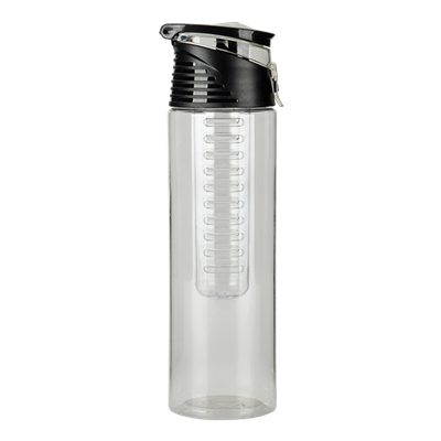 700ml AS Fruit Infuser Water Bottle With Carry Handle Clear