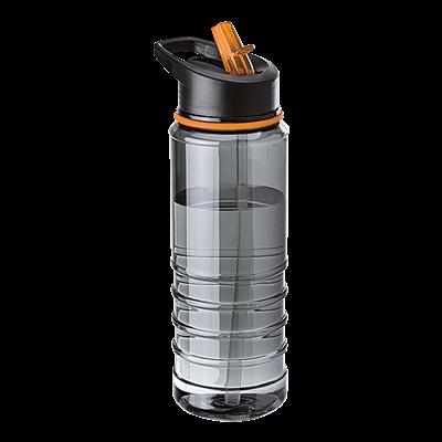 750ml Tritan Bottle with Straw Orange