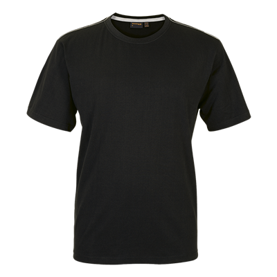 Barron Enviro Crew Neck T-Shirt Black Size XL