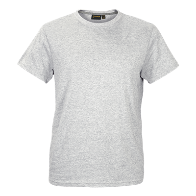 Barron Enviro Crew Neck T-Shirt Ice Melange Size 2XL