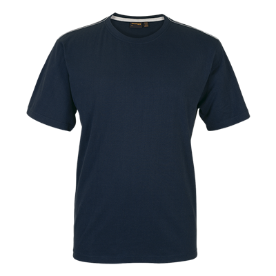 Barron Enviro Crew Neck T-Shirt Navy Size Medium
