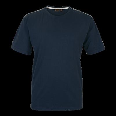 Barron Enviro Crew Neck T-Shirt Navy Size Small