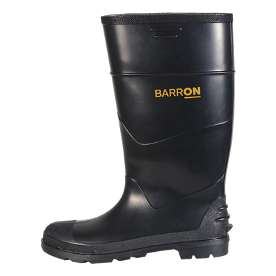 Barron Imara Gumboot Black/Black Size 9