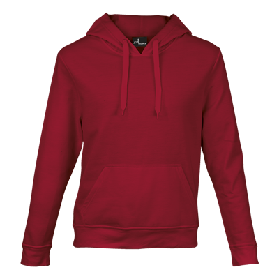 Basic Promo Hooded Sweater Red Size 3XL