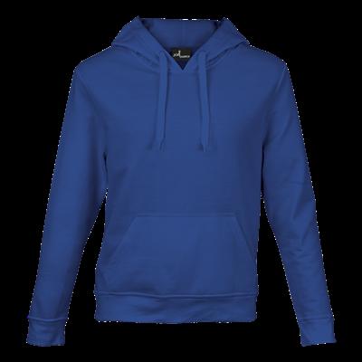 Basic Promo Hooded Sweater Royal Blue Size Large