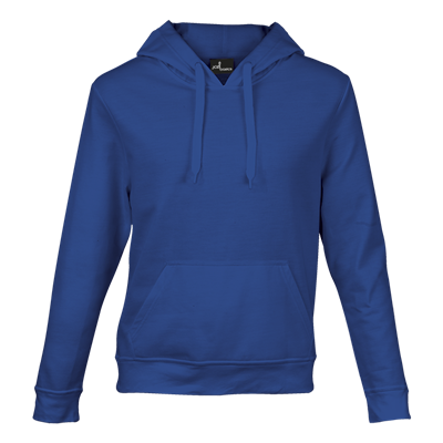 Basic Promo Hooded Sweater Royal Blue Size Small