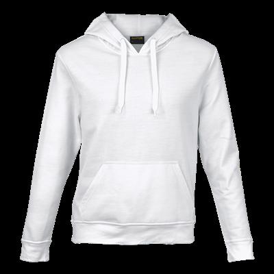 Basic Promo Hooded Sweater White Size 2XL