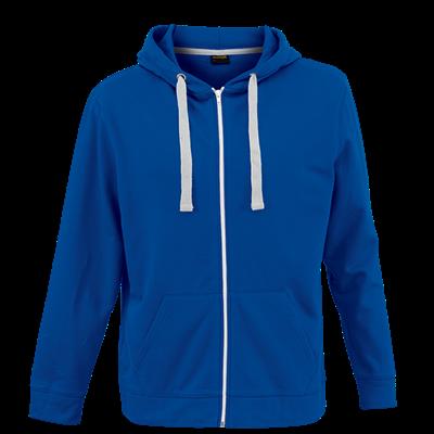 Brighton Hooded Sweater  Royal Blue Size Medium