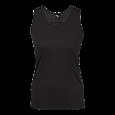 BRT Ladies Bolt Vest Black Size XS