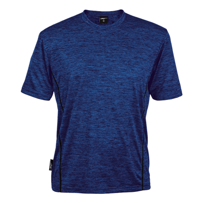 BRT Mens Balance T-Shirt Royal Blue Size XS
