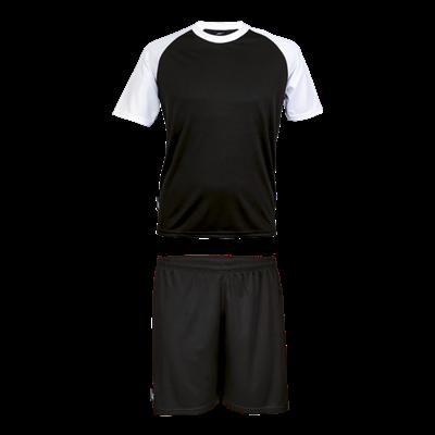 BRT Pitch Soccer Single Set Black/White Size XS