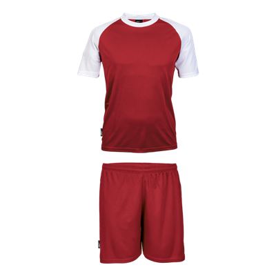 BRT Pitch Soccer Single Set Red/White Size Large