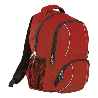 BRT Reflect Back Pack  Red