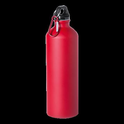 Delby 800ml Water Bottle Red
