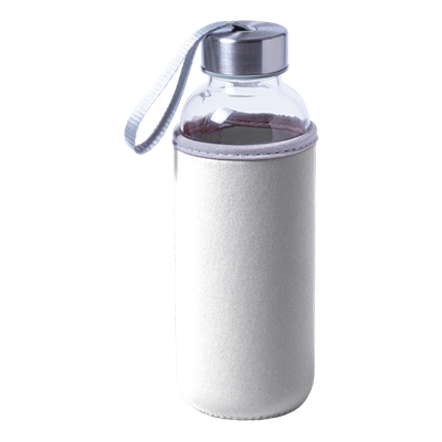 Dokath 420ml Water Bottle White