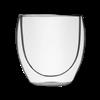 Elegant Double Wall Glass Mug in Gift Box Clear