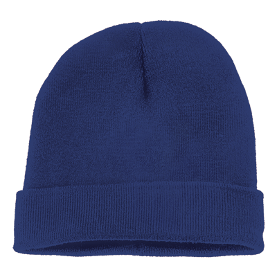 Ice Knitted Beanie Royal Blue