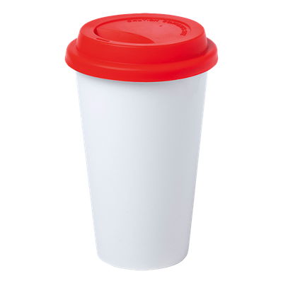 Keylor 400ml Cup Red