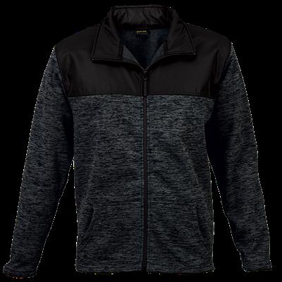 Knox Jacket  Charcoal/Black Size Medium