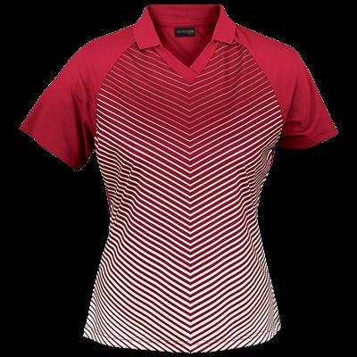 Ladies Apollo Golfer  Red/White Size Small