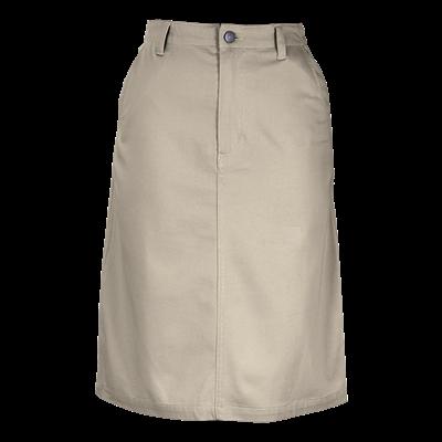Ladies Ava Stretch Skirt  Stone Size 38