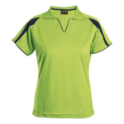 Ladies Edge Golfer  Lime/Navy Size Small