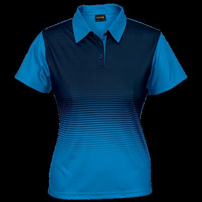 Ladies Fever Golfer  Blue/Navy Size XL