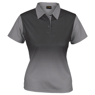 Ladies Fever Golfer  Silver/Charcoal Size Small