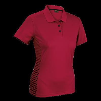 Ladies Galaxy Golfer  Red/Black Size Medium