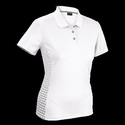 Ladies Galaxy Golfer  White/Silver Size 2XL
