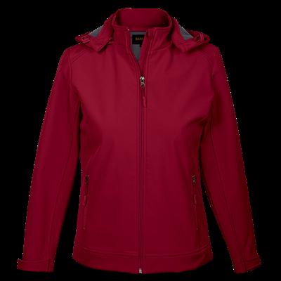 Ladies Illusion Jacket  Red Size 2XL