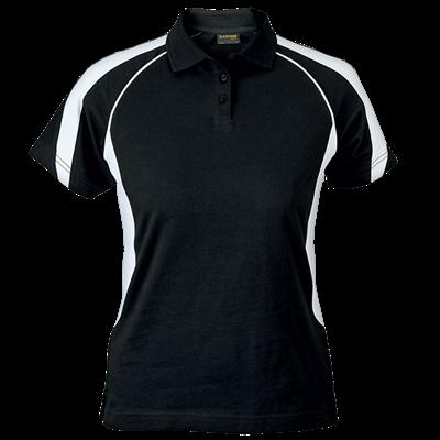 Ladies Maxima Golfer  Black/White Size 4XL