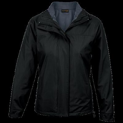 Ladies Nashville 3-in-1 Jacket  Black/Charcoal Size 2XL