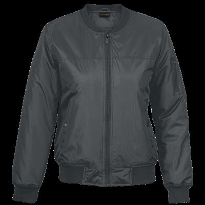 Ladies Orlando Jacket  Charcoal Size Small