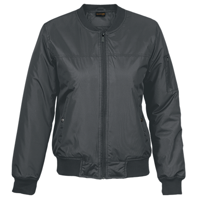 Ladies Orlando Jacket  Charcoal Size XS