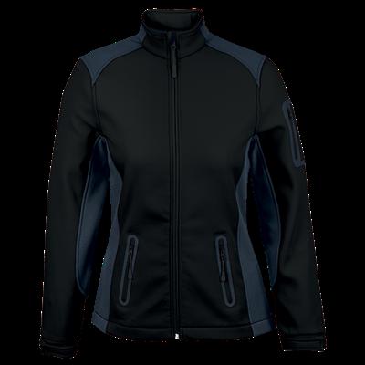 Ladies Pegasus Jacket  Black/Granite Size 3XL