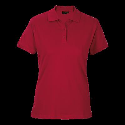 Ladies Port Golfer Red Size XS