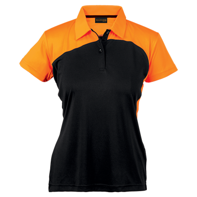 Ladies Torpedo Golfer  Black/Orange Size Small
