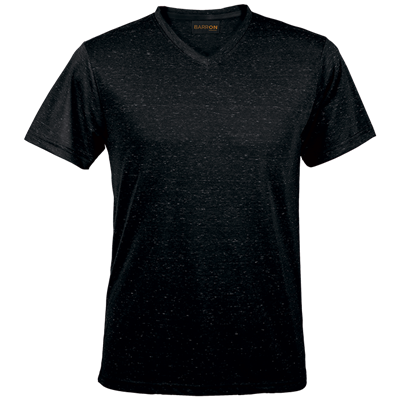 Mens 145g Astro T-Shirt Black/White Size Small