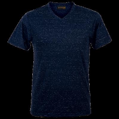 Mens 145g Astro T-Shirt Navy/White Size 4XL