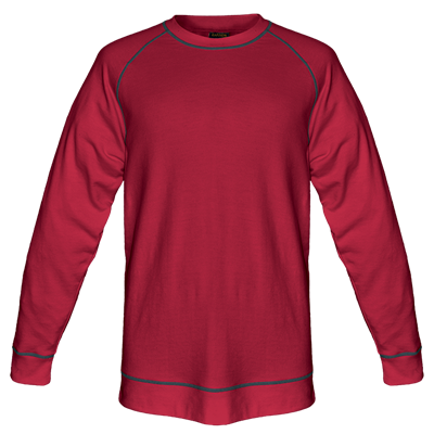 Mens Alpine Sweater  Red Size XS