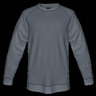 Mens Alpine Sweater  Silver Size 5XL