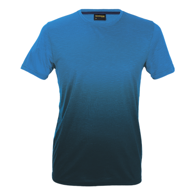 Mens Bailey Crew Neck T-Shirt Blue/Navy Size XL